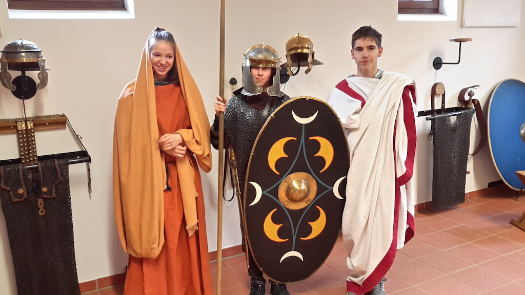 In antiker Kulisse lernen